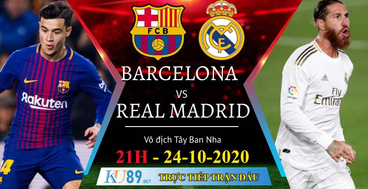 soi kèo 24/10/2020 Barcelona vs Real Madrid