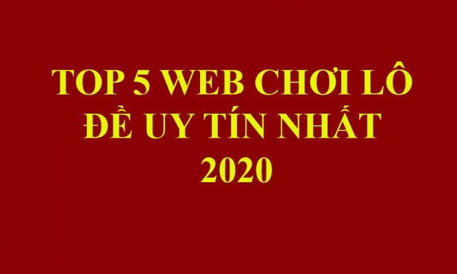top 5 web lô đề