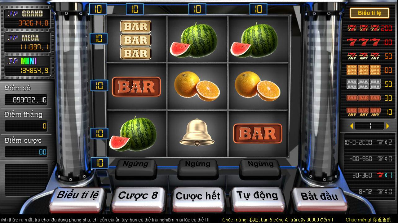 Bar trái cây