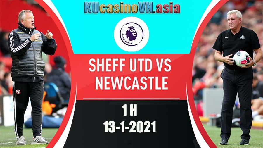 Trực tiếp soi kèo Sheffield United vs Newcastle United