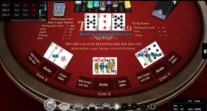 trò chơi poker online tại kucasino
