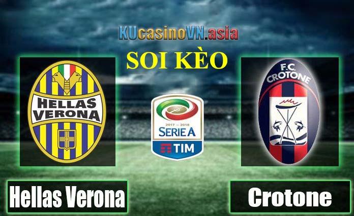 Trực tiếp soi kèo Verona vs Crotone 10/1/2021