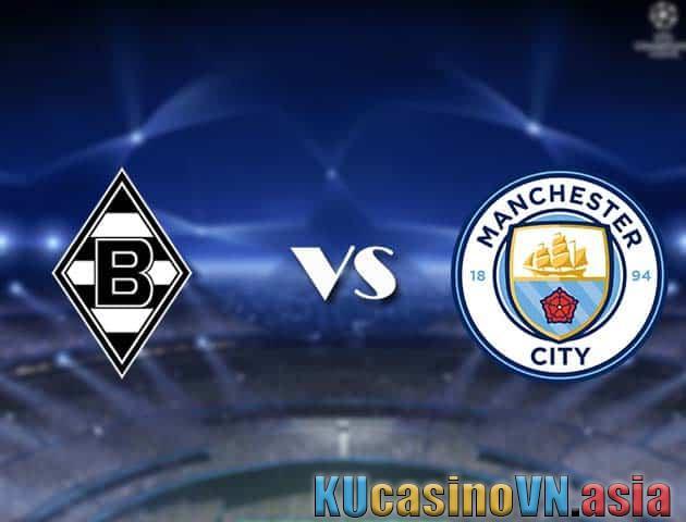 Ngày 25 tháng 2 năm 2021, Monchengladbach vs Man City-Cúp C1 châu Âu