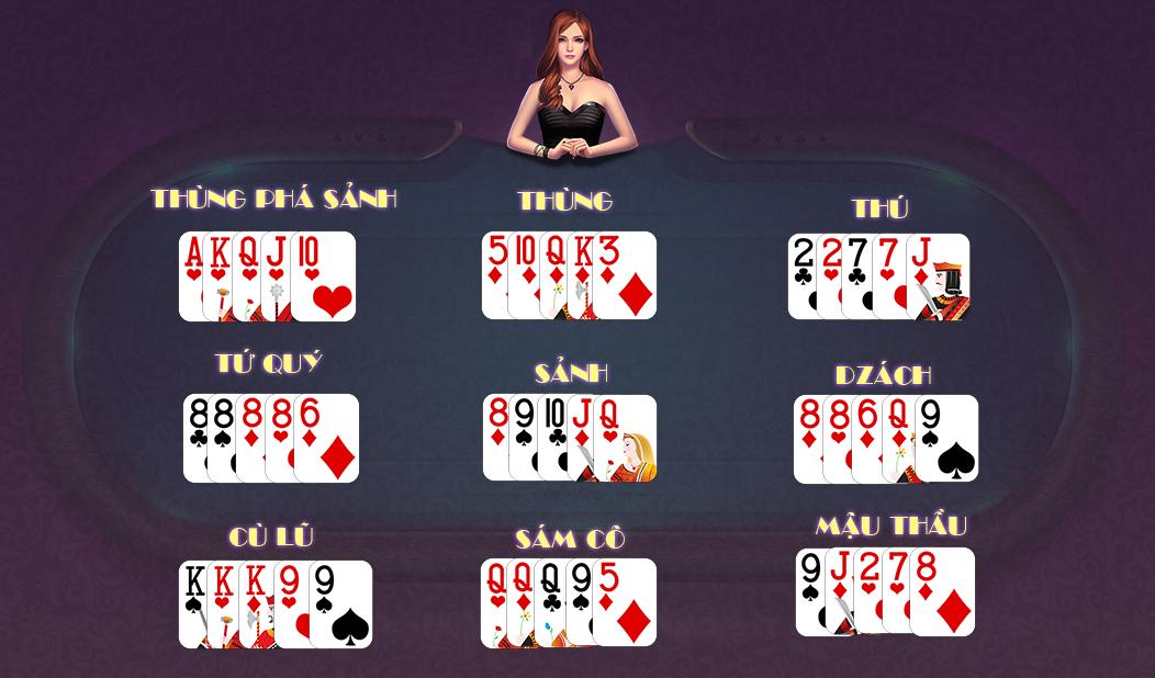 Binh xập xám trên casino online