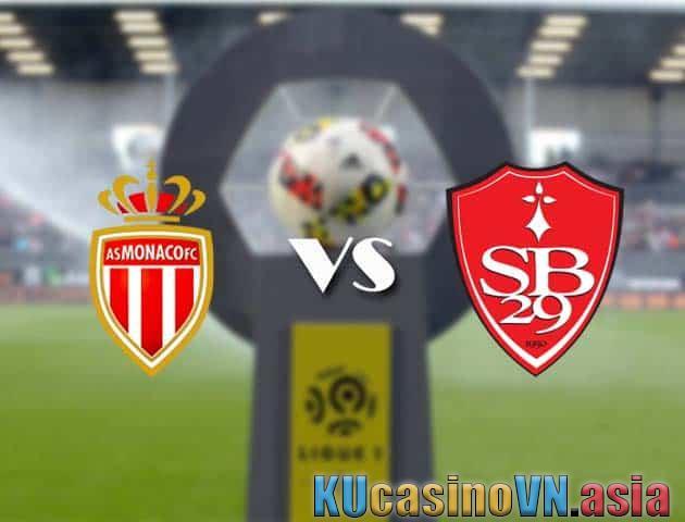Kèo AS Monaco vs Brest, 28/02/2021 - VĐQG Pháp [Ligue 1]