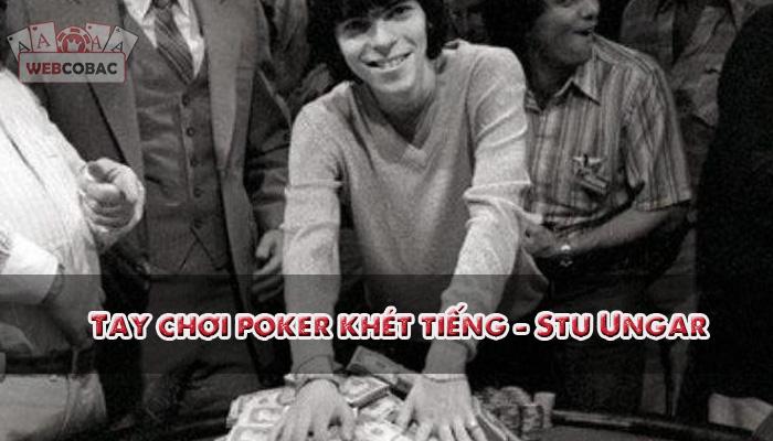 Người chơi poker Stu Ungar