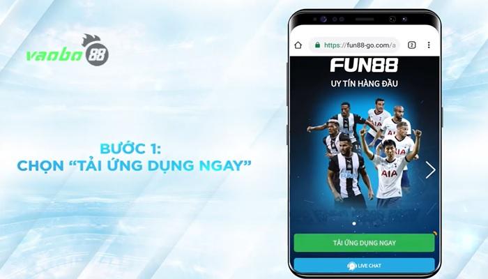 Tải xuống ứng dụng android fun88