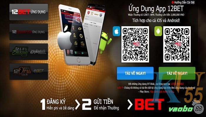 tải App 12bet cho điện thoại