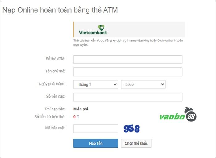 Cách gửi tiền