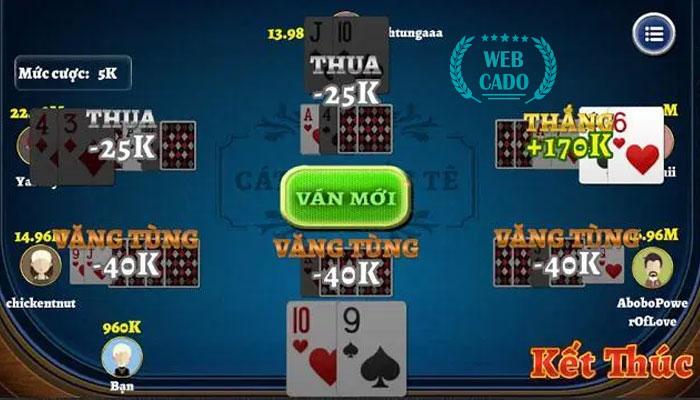 chơi 6 thẻ