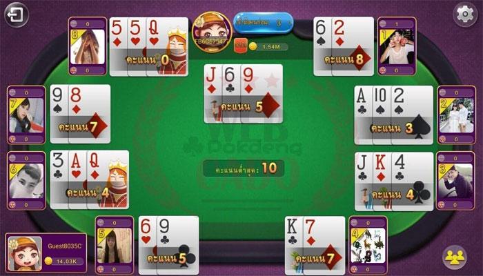 Luật chơi bài poker deng