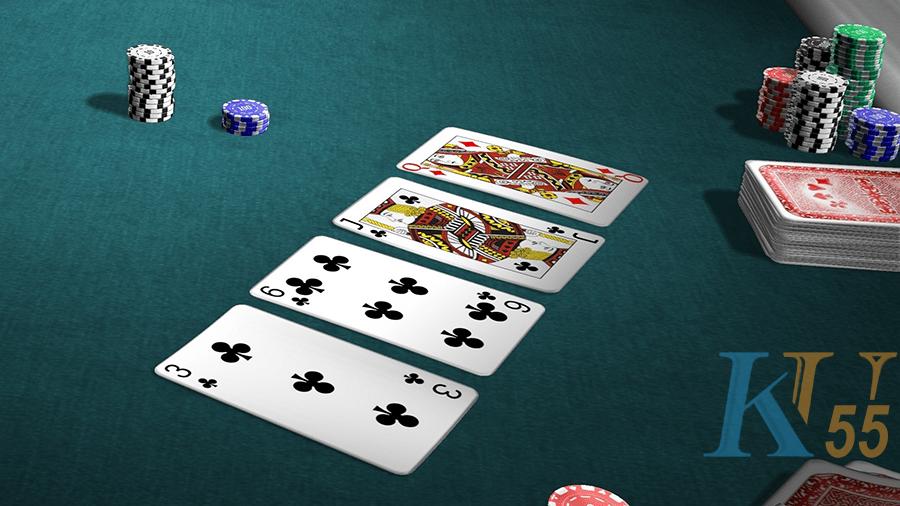 Để thiết lập một thang blackjack, có 4 điều cần làm