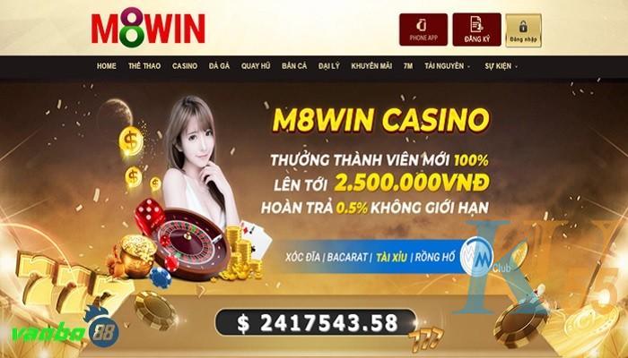 đánh giá m8win