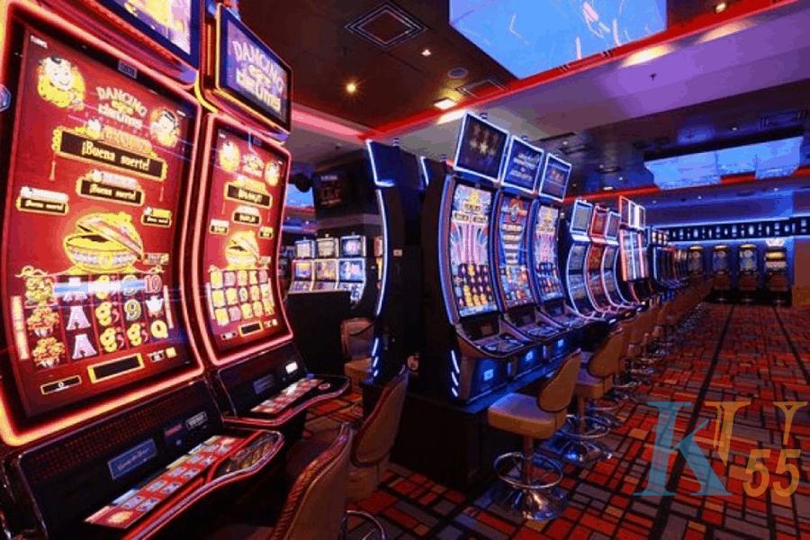 Thu thập một bộ sưu tập các máy đánh bạc