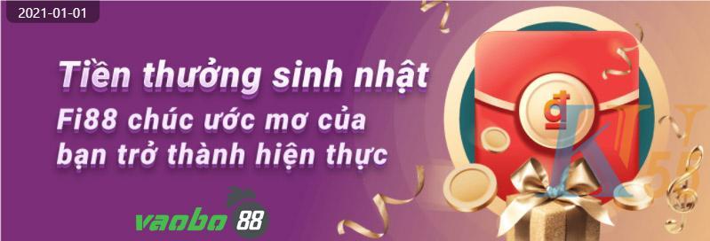 fi88 khuyến mãi chúc mừng sinh nhật