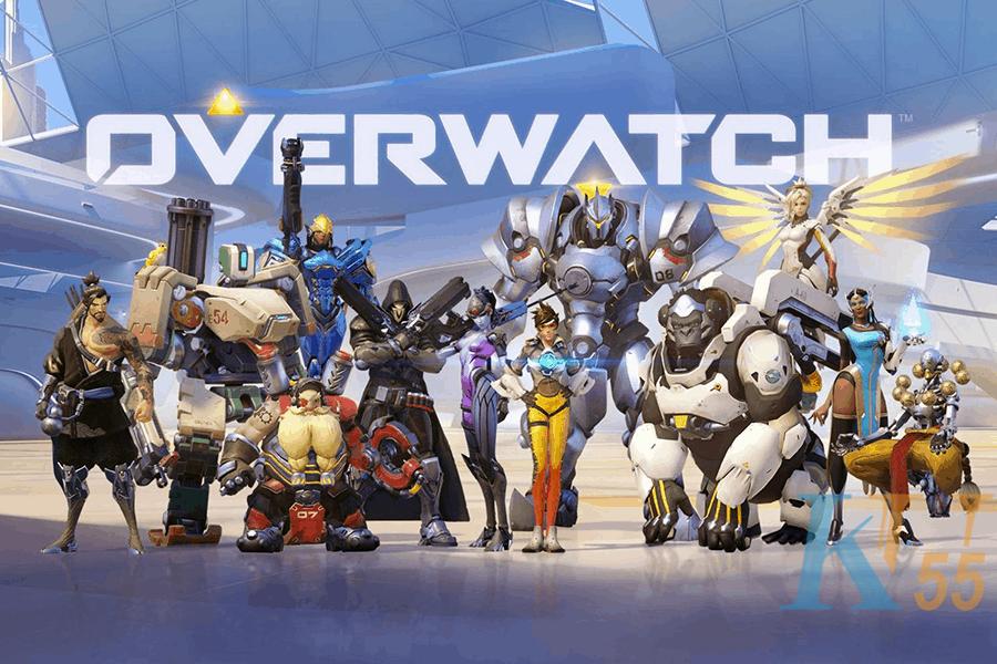 Trò chơi gắn thẻ tên của người chơi Overwatch