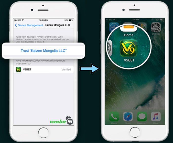 tải ứng dụng v9bet về điện thoại