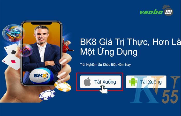 cách tải app bk8 về ios