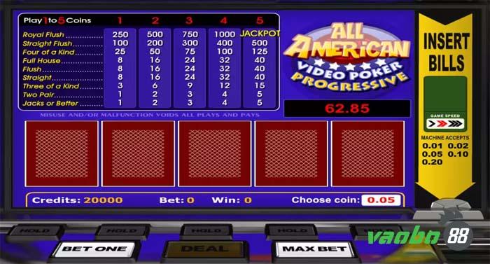 video chơi poker trực tuyến