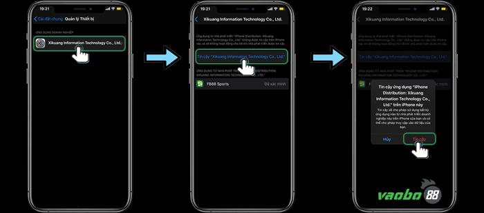 cách cài đặt ứng dụng fb88 iphone