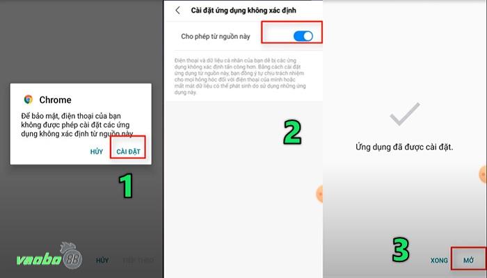 Cách tải xuống ứng dụng ae888 Android