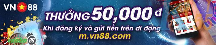 vn88 khuyến mãi qua điện thoại di động